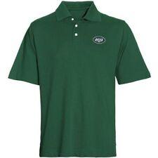 NWT $58 Cutter & Buck NFL New York Jets Short Sleeves Ace Polo Hunter Green 2 XL