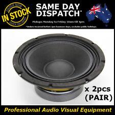 "2pcs 8"" 150WRMS PA DJ Speaker Subwoofer Sub Driver 8 Inch 4 Ohms Quality"