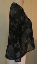Zara 3/4 Sleeve Floral Regular Size Tops for Women