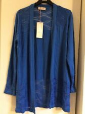 BNWT M&S PER UNA Open Front Scallop Cardigan Size 22