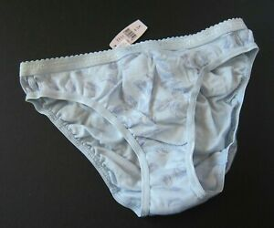 1 NWT Victoria's Secret VINTAGE 100% Cotton Signature Bikini Panty SMALL