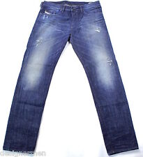 BRAND NEW DIESEL BUSTER 0837A JEANS 34X32 837A SLIM TAPERED FIT