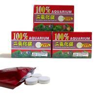 36 Stück Tabletten Kohlendioxid Für Pflanzen Aquarium Diffusor Anlage CO2