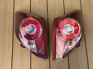 JDM 2013 Toyota Echo Vitz Yaris NCP131 RS Taillights Tail Lights Lamps Set OEM