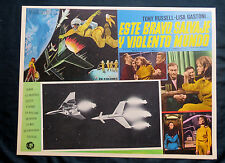 """WILD WILD PLANET""TONY RUSSELL LISA GASTONI FRANCO NERO N MINT LOBBY CARD SET 66"