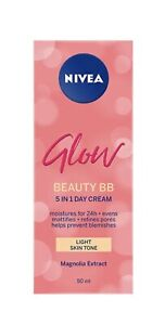 Nivea Glow Bb Cream Blemish Prone Face Moisturiser 50Ml