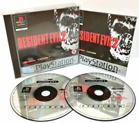 Mint Disc Playstation 1 Ps1 Resident Evil 2 II Complete Free Postage
