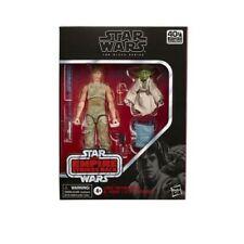 """Star Wars Black Series 6"""" Figure Luke Skywalker Yoda Jedi Training Set"""
