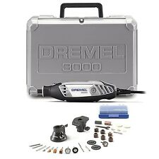 DREMEL 3000 1/26 Variable Speed Rotary Tool with 26 Accessories & Carry Case