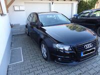 Audi A4 Avant 2.0 TDI Ambiente S-Line Kombi schwarz 8 fach bereift