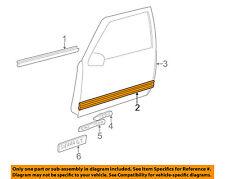 GM OEM FRONT DOOR-Body Side Molding Left 15740101