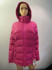 The North Face Womens Fossil Ridge Winter Puffer Hoodie Parka Jacket Pink M