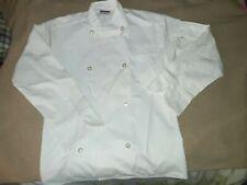 Chef Coat Jacket~ Men's Small White ~ Cook Uniform Uncommon Threads