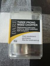 New listing 482-3 Weed-Chopper Electric Fence Control Three 3-Prong