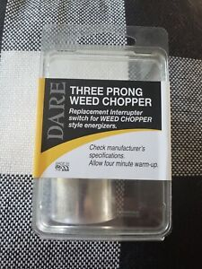 482-3 Weed-Chopper Electric Fence Control Three 3-Prong