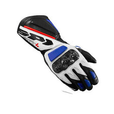 SPIDI STR-4 BLU-RED tg 3XL -GUANTI MOTO SPORTIVI PISTA RACING - MOTORCYCLE GLOVE