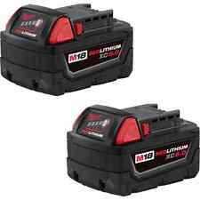 Milwaukee 48-11-1852 M18™ REDLITHIUM™ XC5.0 Extended Capacity Battery 2-Pack