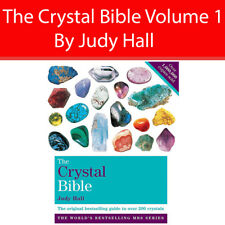 The Crystal Bible Volume 1 By Judy Hall Gods field Bibles Paperback NEW