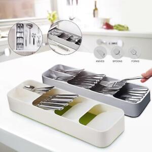 Cutlery Organizer, Spoon Utensil, Tray Insert Divider, 9 SECTION Kitchen Storage