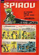 ▬► Spirou Hebdo N° 1242 du 1er Février 1962