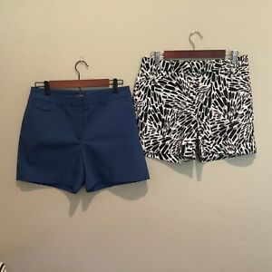 White House Black Market Womens Lot Of 2 Shorts Size 6