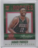 2014-15 Panini Prestige Acetate Jabari Parker RC Bucks Rookie Acetate #6