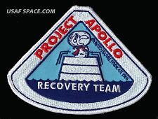 SNOOPY - PROJECT APOLLO - RECOVERY TEAM - NASA SPACE PATCH - MINT - CONDITION