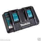 Makita DC18RD Dual Port 14.4-18V Rapid Battery Charger USB 2 BL1830 1840 1850