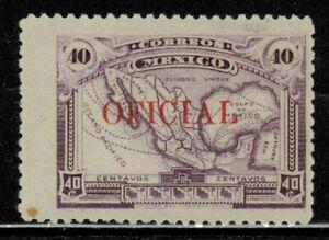 Mexico #O142 1921 MLH