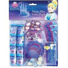 Disney Princess Cinderella Birthday Party Supplies 48PC Mega Value Favor Pack