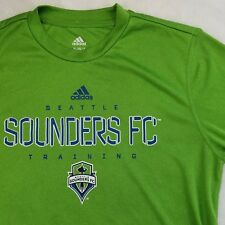 Seattle Sounders FC Jersey L/S Green Soccer Futbol Xbox Climalite Youth XL 18