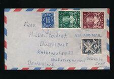 Curacao, Brief aus Wilhelmstad nach Düsseldorf  (H14)