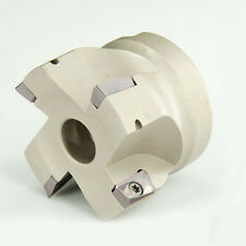 50mm INDEXABLE END FACE MILL CUTTER MILLING TOOLHOLDING 4PCS APMT1135 FREE FMB22