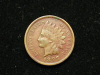 MUST GO SALE! COIN XF 1897 INDIAN HEAD CENT PENNY w/DIAMONDS & FULL LIBERTY 273v