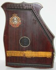 More details for antique schute marke zither piano harp  circa 1870- free postage [pl1666]