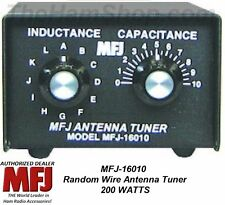 MFJ-16010 Random Wire Antenna Tuner, 200 Watts, 160 - 10 Meters