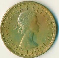 1966 FLORIN TWO SHILLINGS QUEEN ELIZABETH II. UNC WITH TONING  #WT11140