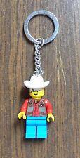 Lego Schlüsselanhänger Wilder Westen Cowboy Key Chain Wild West Cowboy von 1998