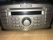 Ford 6000 CD player, Silver/Black Ford Focus car stereo headunit