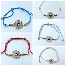 Pulsera mal de ojo nazar hamsa amuleto turco suerte nuevo regalo bisuteria moda