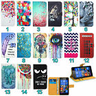 HTC Mobile Phone Leather Wallet Kickstand Bag Case Cover