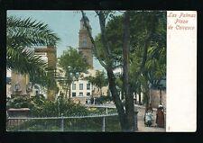 Spain Gran Canaria LAS PALMAS Plaza de Cairasco c1902 u/b PPC
