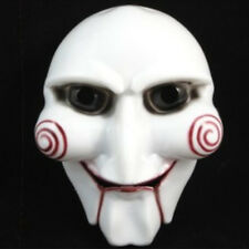 Saw Jigsaw Puppet Mask Halloween Horror Costume Fancy Dress Masquerade Props New