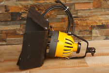 Berkey Colortran Color Beam 650 Watts Spot Light Yellow Head with Barn Doors