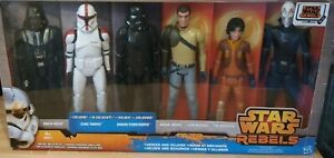 "Star Wars Rebels Disney Store Exclusive 12"" Figure Pack With 2 Exclusive Figures"