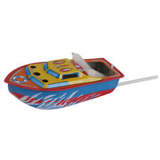 COLLECTIBLE POP POP BOAT VINTAGE RETRO TIN TOY STEAM/CANDLE POWERED FLOATING
