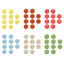 10 Pcs Round Fabric Covered Button Sewing Diy Clothes Dolls Embellishment