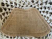 2 Woven Wicker Straw Raffia Placemat, Square Placemats, Rope, Woven Placemat