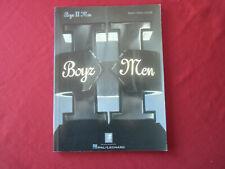 Boyz To Men - Boyz To Men . Songbook Notenbuch Piano Vocal Guitar PVG