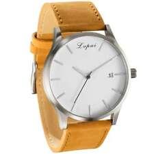 Men's Fashion Casual Leather Wrist Watch Lvpai P066